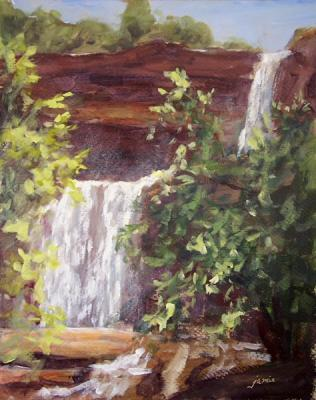 080728-late-morning-at-kaaterskill-falls-10x8-done-600