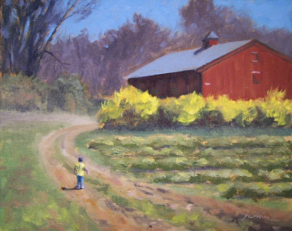 Hudson Valley Painter 187 Flowers Gardens And Flowering Trees