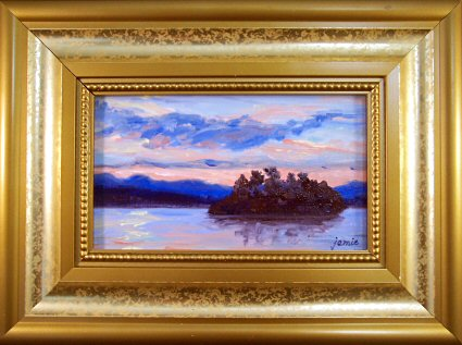 090406-peaceful-island-sunset-3x5-framed-425