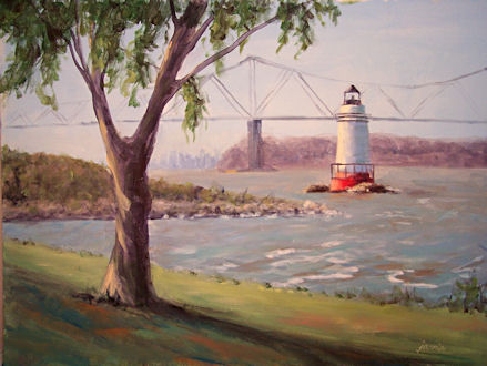 090817-Tarrytown-Lighthouse-12x16-450