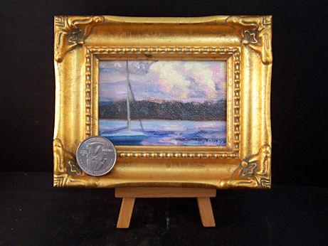 Marys-boat-at-sunset-framed-450