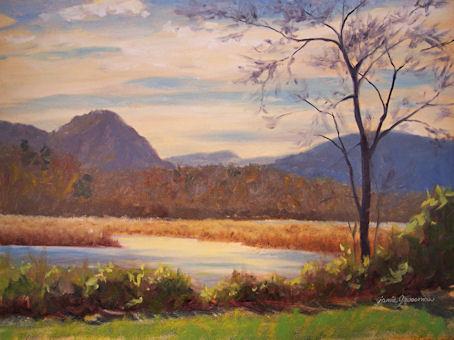 091117-Fishkill-Creek-Hudson-River-12x16-wip1-450