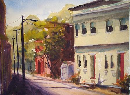 100509-Coxsackie-Street-Scene-wc-11x15-450