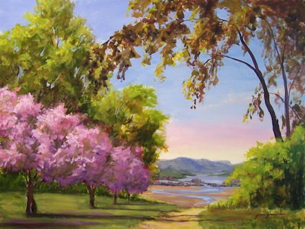 100521-Cherry-Blossom-Path-done-GFA-18x24-4501