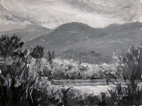 Lindas-Pond-bw-6x8-450