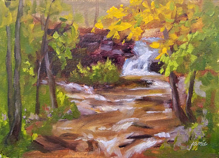 101007-Autumn-at-the-Waterfall-5x7-450