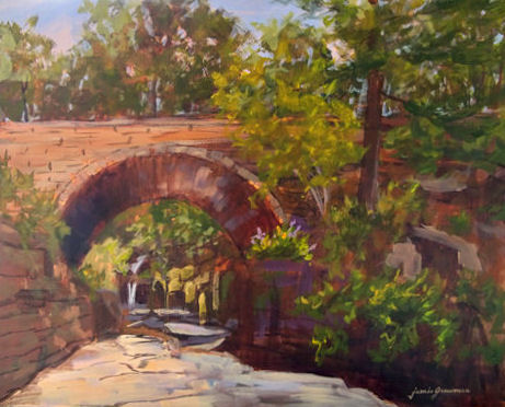 101026-Under-the-Bridge-in-Devils-Kitchen-16x20-450