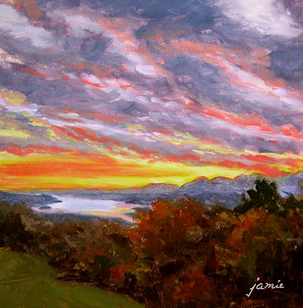 110216-Fall-Sunset-at-Olana-6x6-450-darker