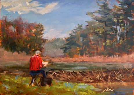 110428-Nick-Painting-at-Beaver-Pond-5x7-450
