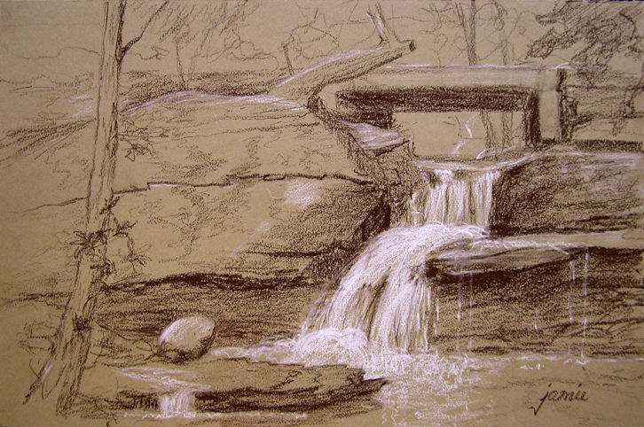 Hudson Valley Painter 187 Blog Archive 187 Tonal Sketch Of