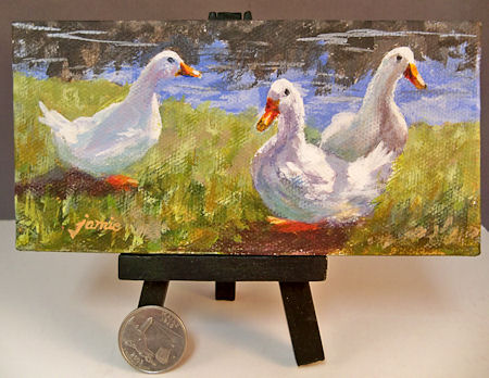 111120-Quackers-with-easel-450