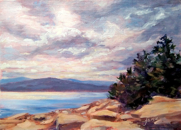 "One of my newest paintings at  <a href=""http://hudsonvalleypainter.com/""> Hudson Valley Painter</a>"