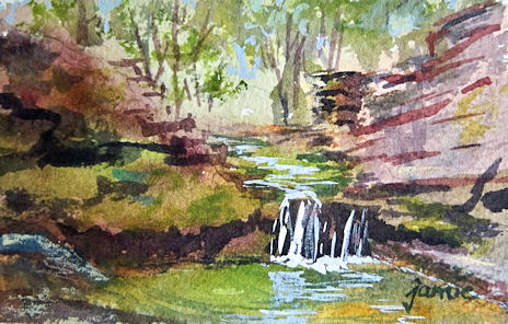 120506-Brook-Study-No-1-watercolor-3x4-450
