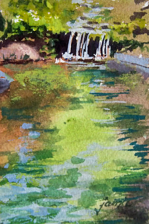 120506-Brook-Study-No-3-V-high-horizon-watercolor-3x4-450v