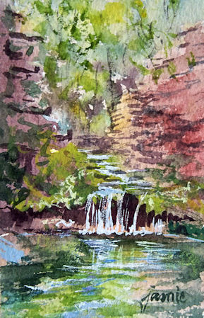 120506-Brook-Study-No-4-vertica-low-horizon-watercolor-3x4-450