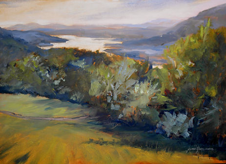 120907-Hudson-River-From-Above-oil-sketch-11x15-450