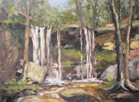 121026-Approaching-Autumn-at-Hidden-Falls-9x12-450