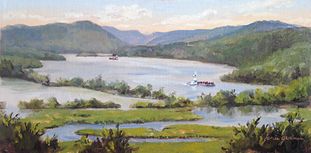 160712 Summer Morning on the Hudson 6x12 435 hc