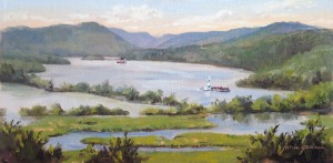 160712 Summer Morning on the Hudson 6x12 800 hc