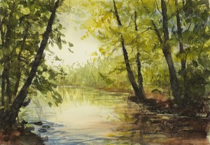 170701 Summer Along the Creek 7x11 wc 800