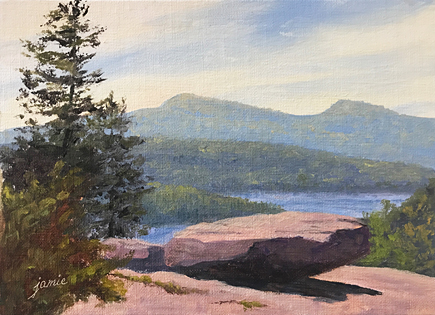 170901 Sunset Rock 5x7 435